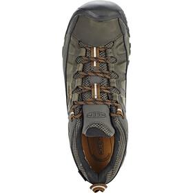 Keen Targhee III WP Shoes Herre black olive/golden brown